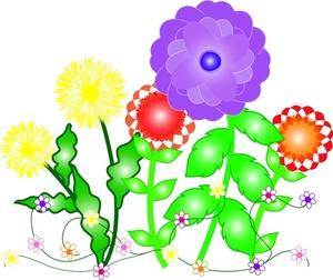 300x252 Top 96 Spring Flowers Clip Art