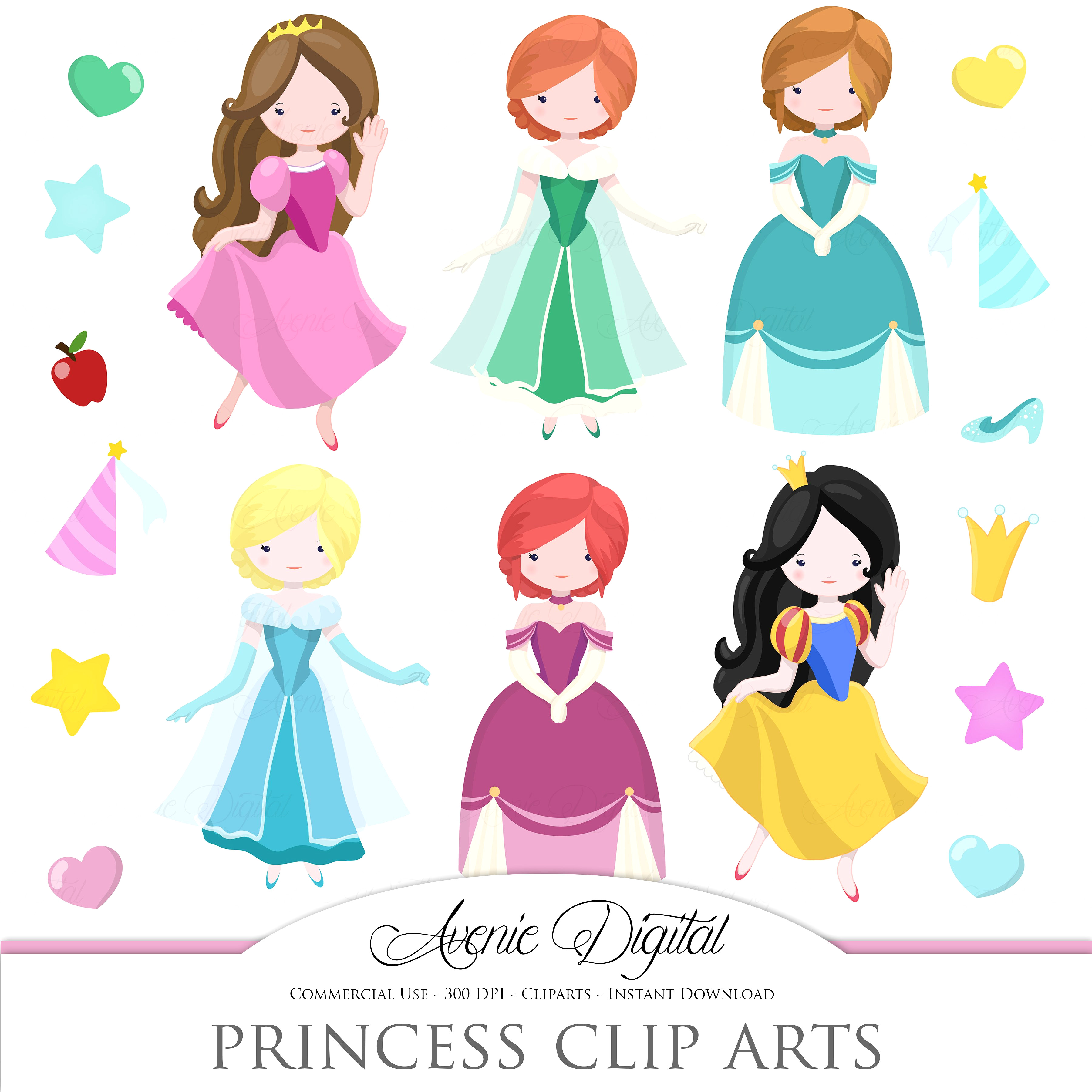 3600x3600 Prince And Princess Clip Art 2 Sweet Pleasing Images