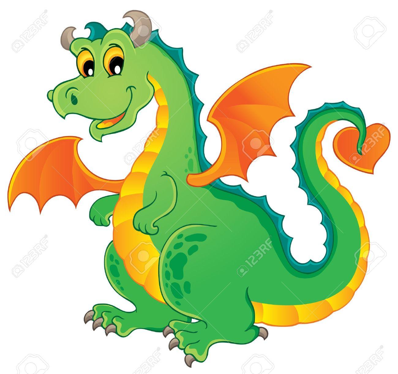 1300x1220 Fairy Tale Clipart Green Dragon