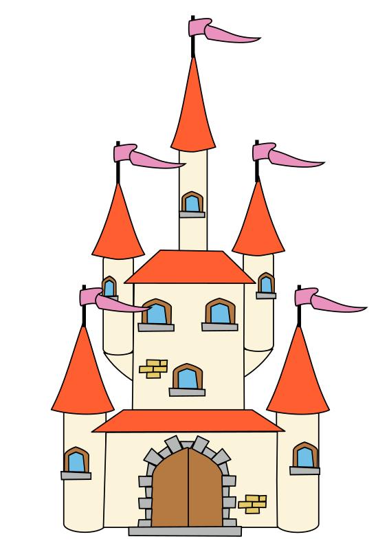 550x800 Fairytale Fairy Tale Castle Clip Art Free Clipart Images 2