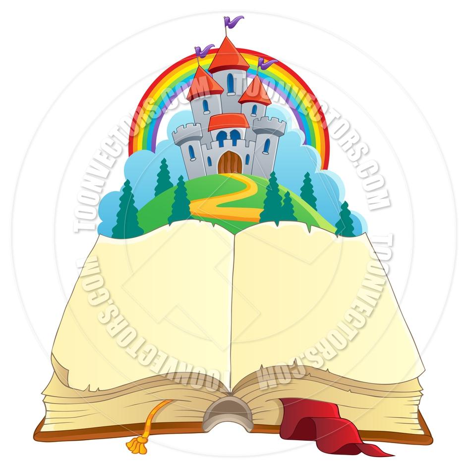 940x940 Cartoon Fairy Tale Book Castle Clipart Panda