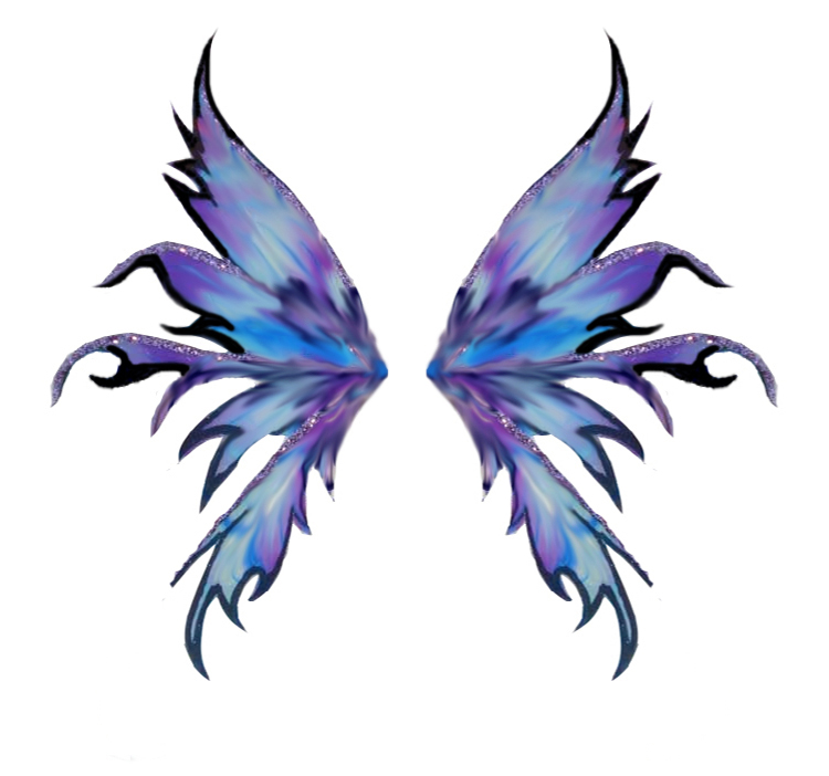750x702 Fairy Wings Tattoo Design