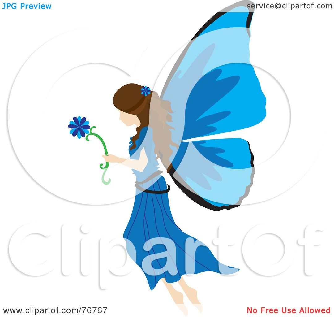 1080x1024 Royalty Free (Rf) Clipart Illustration Of A Brunette Female Fairy