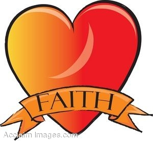 300x277 Clip Art Of A Faith Heart