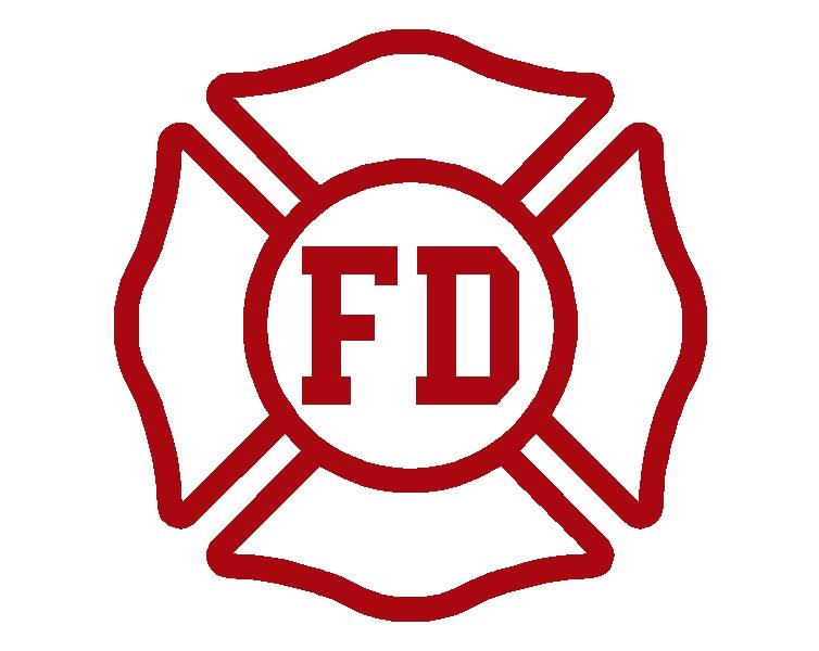 754x600 Fire Department Logo Clip Art