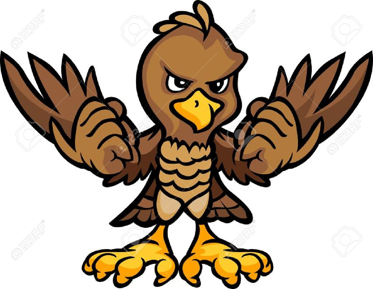 1300x1006 Cartoon Clipart Falcon 3137403