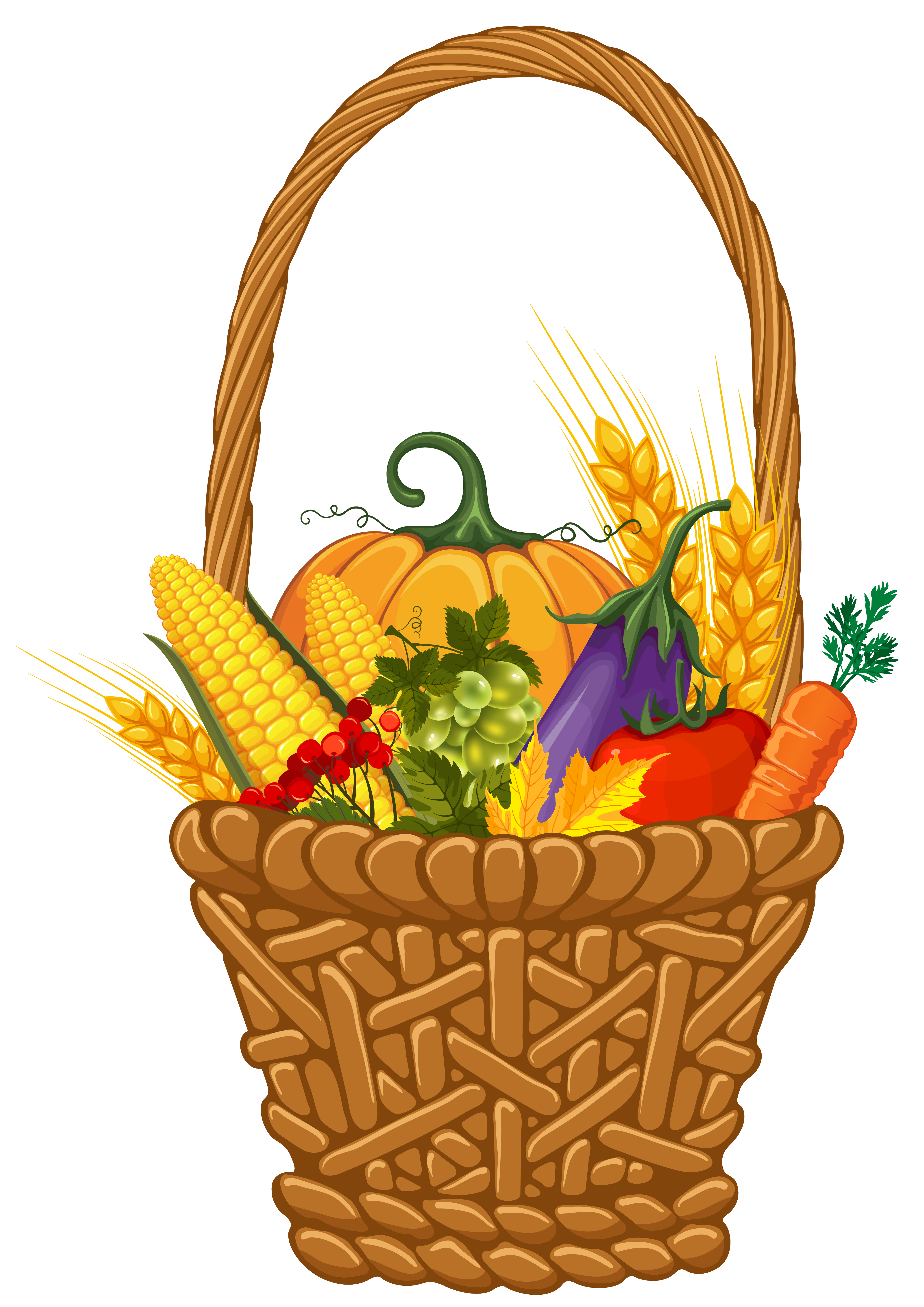 4120x5826 Fall Harvest Basket Png Clipart Imageu200b Gallery Yopriceville