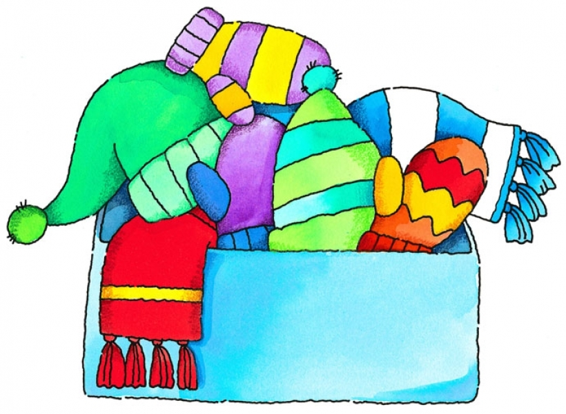 820x601 Winter Clothes Clip Art Winter Clothing Clipart 4