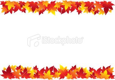 380x263 Autumn Borders Clip Art Free Fall Festival Border Clipart