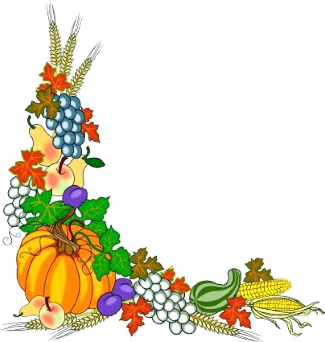 665x700 Fall Border Clip Art Free Free Fall Publication20 Harvest20 Leaf