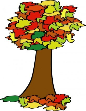 330x425 Free Fall Tree Clipart And Vector Graphics