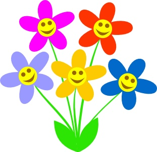 311x300 Spring Clip Art Flowers Craft Get Ideas