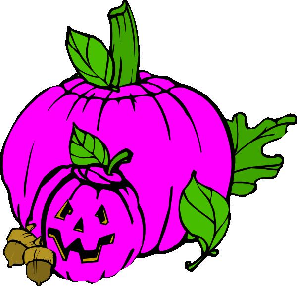 600x578 Pink Pumpkin, Dina, Fall Clip Art
