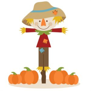 300x300 Scarecrow Clipart Cute Fall