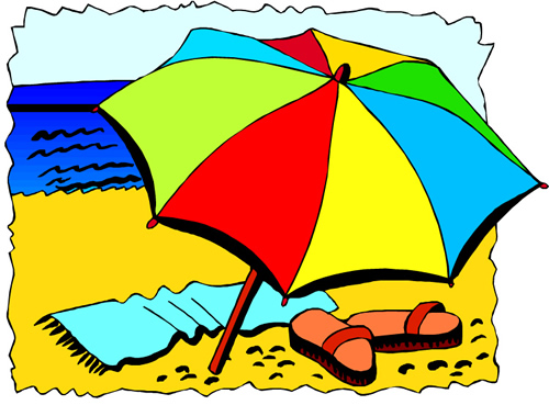 500x369 Scene Of Early Summer Clipart