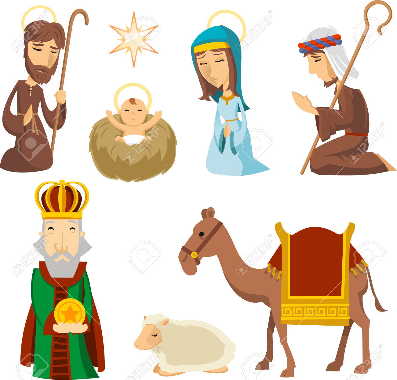 1300x1243 Nativity Scene Clip Art