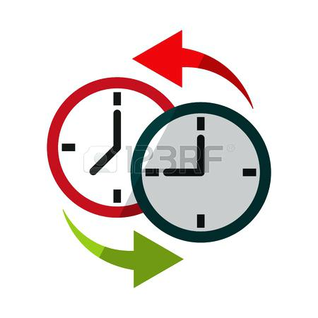 450x450 Clipart Time Change Fall Back