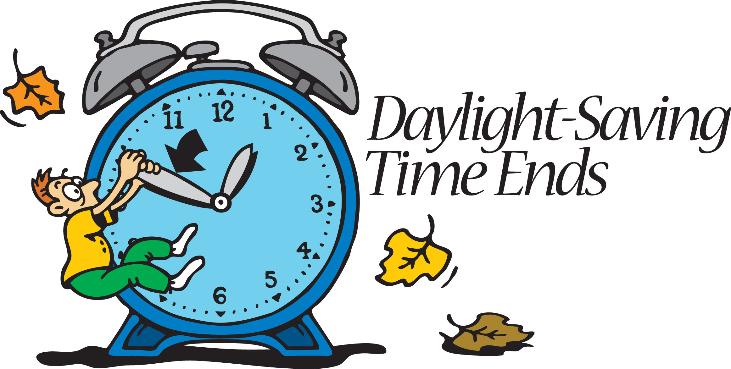 2324x1174 Fall Back Time 2014 Clipart