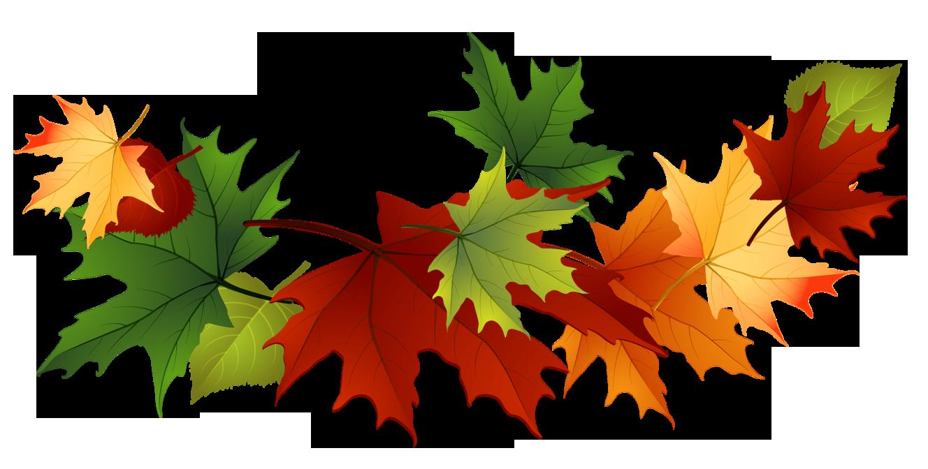 1328x672 Fall Leaves Free Clip Art