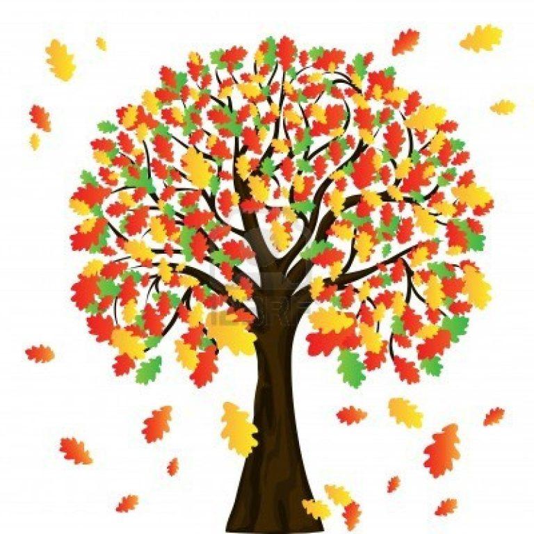 768x768 Clipart Autumn Tree Autumn Clip Art 93