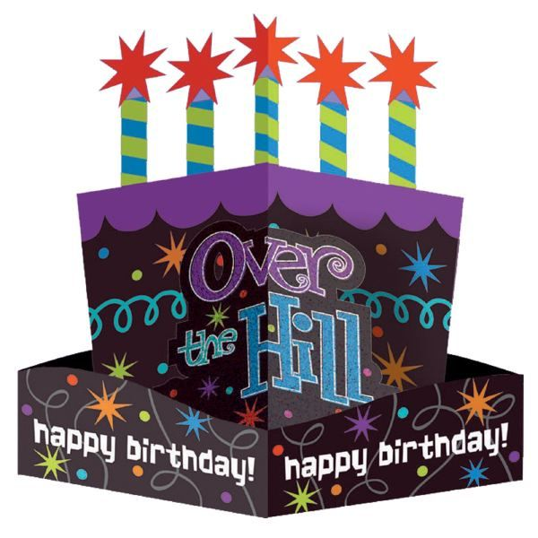 600x600 Happy 50th Birthday Clip Art Clipart For Free Over The Hill