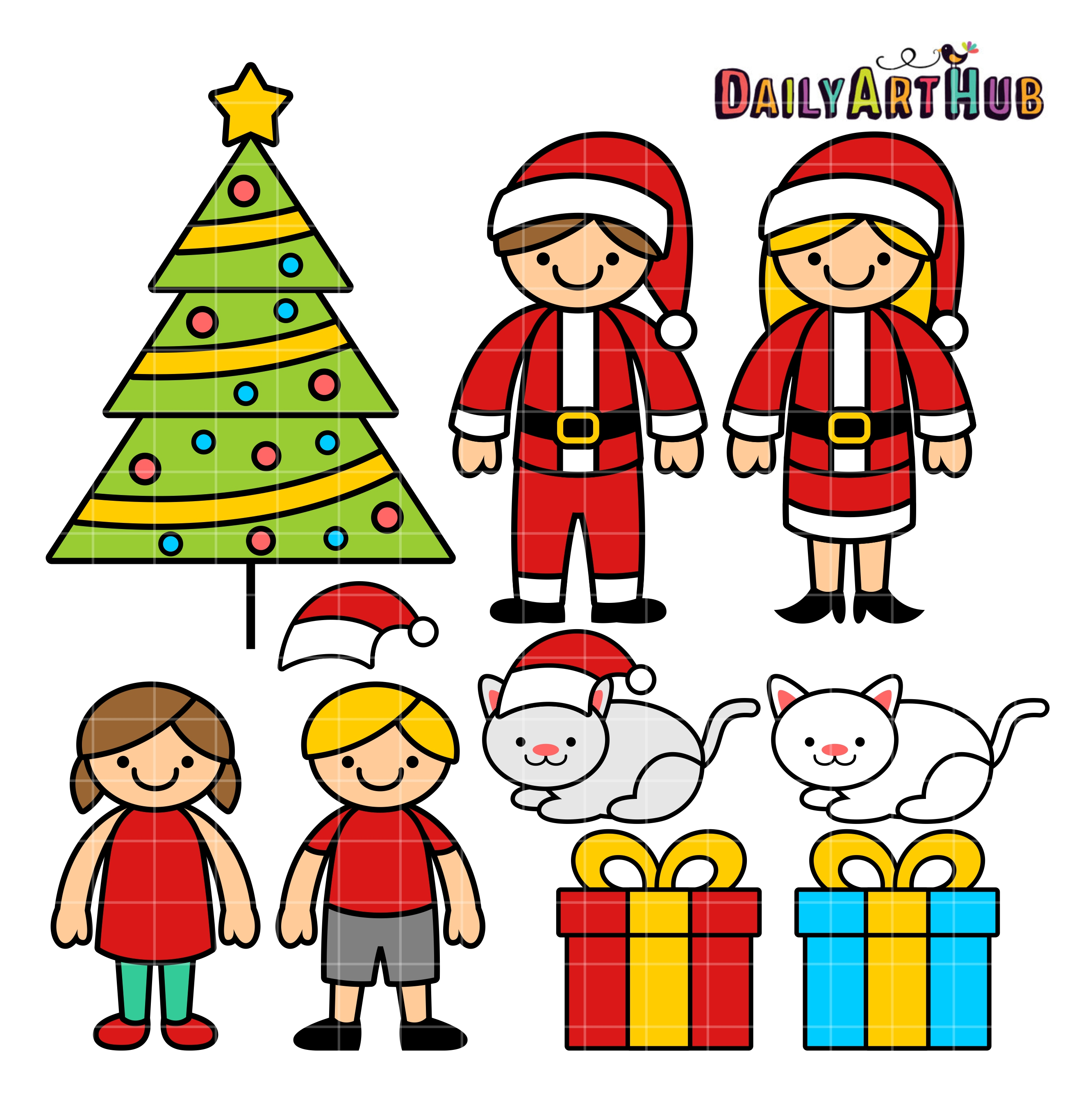 2664x2670 Displaying 20gt Images For Happy Family Clipart Christmas 212932