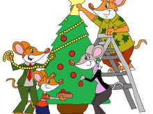 220x165 Decorating Clipart Family Decorating Christmas Tree Happy Family