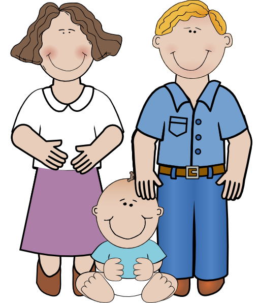 510x596 Family Gallery For Word Families Clip Art 2