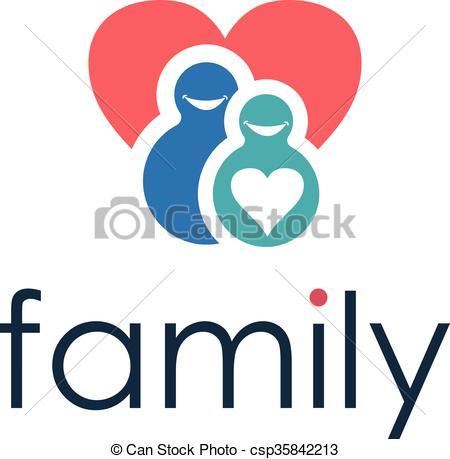 450x459 Happy family icon. vector vector clip art
