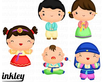 340x270 Korean Family Clipart Korean Family Clip Art Korean Family