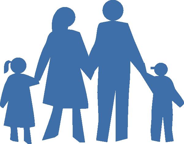 600x470 family silhouette clip art family silhouette clip art