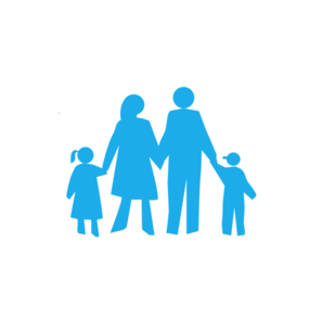 297x294 Family Without Circle Clip Art