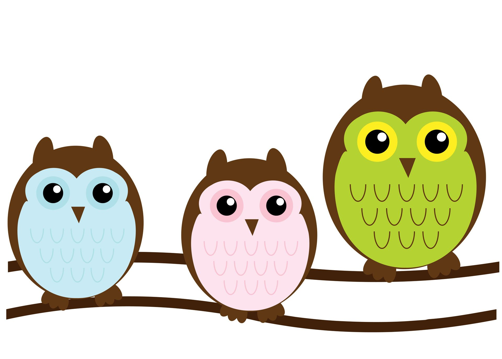 1920x1374 Owl Family Cute Clipart Free Stock Photo Public Domain Pictures