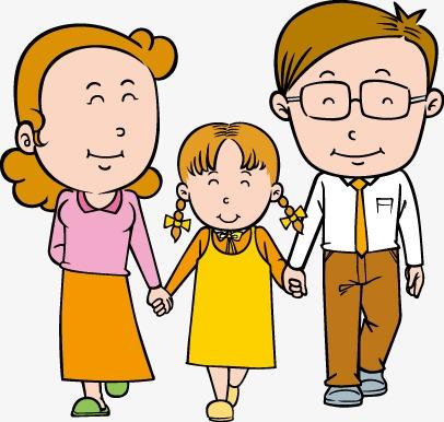 406x386 Family Clip Art Image Free