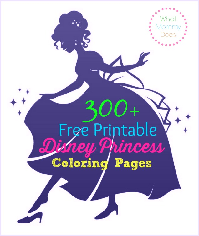 636x752 Free Printable Disney Princess Coloring Pages