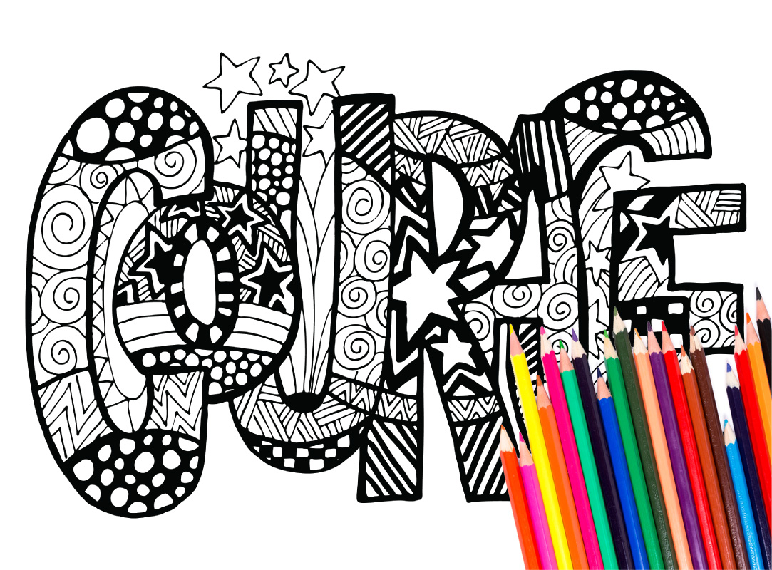 1083x800 Inspirational Word Coloring Pages Sevimlimutfak