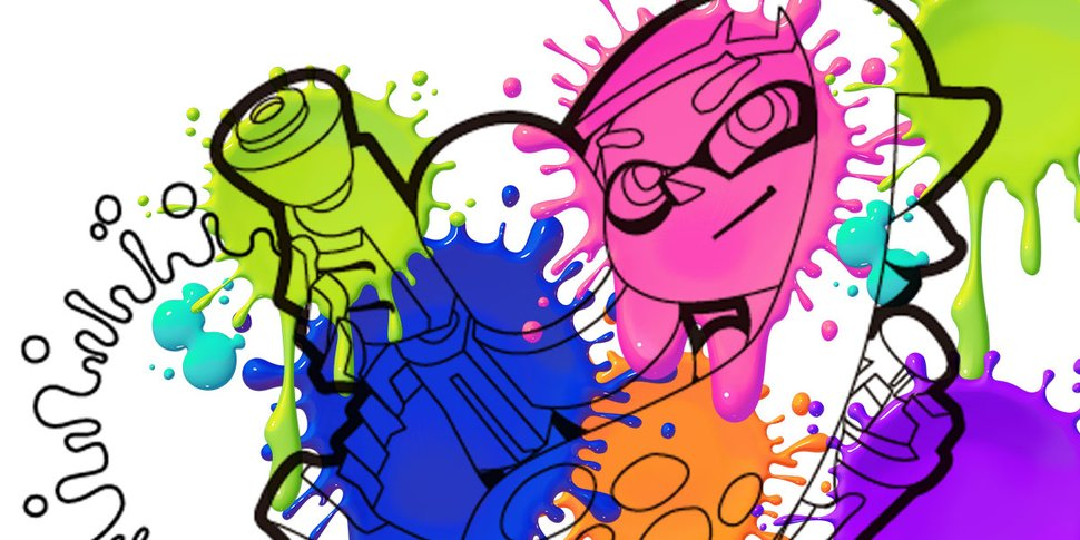 970x485 Splatoon Printable Coloring Pages