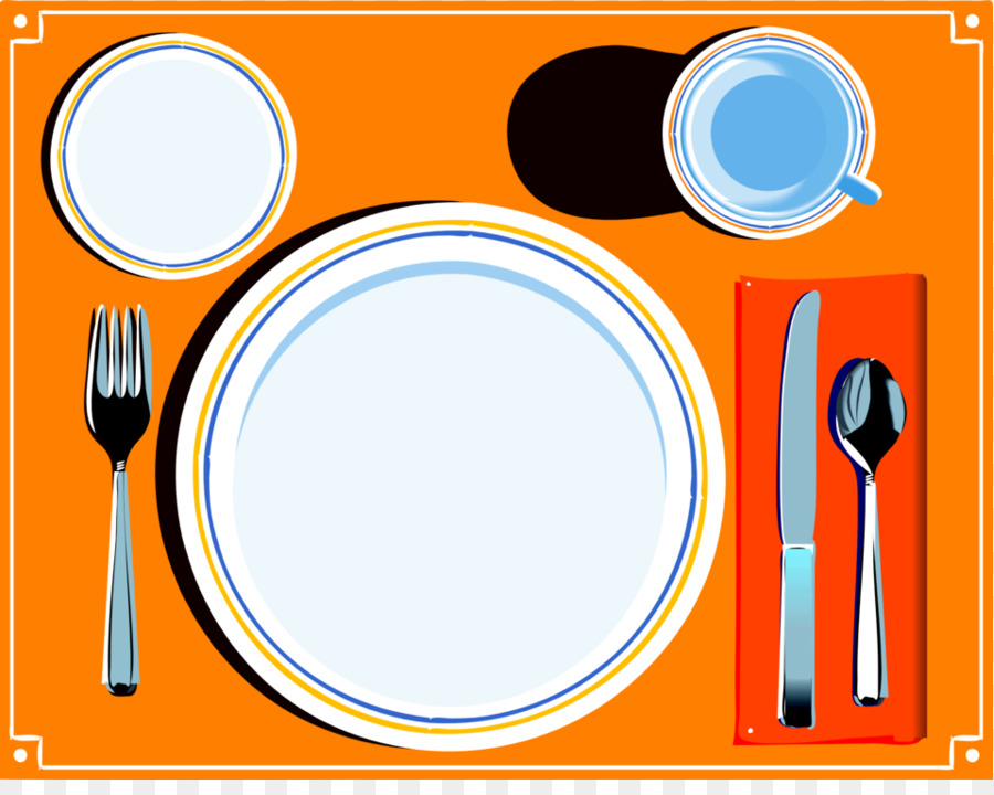 900x720 Dinner Table Clipart