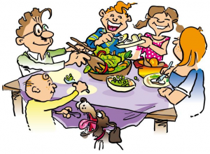 300x220 Family Dinner Clipart Clipart Panda