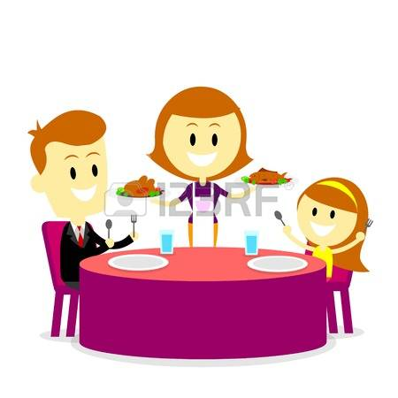 450x450 Family Dinner Clipart Free Download Clip Art