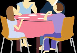 300x210 Family Dinner Table Clipart Explore Pictures Dining Free Download