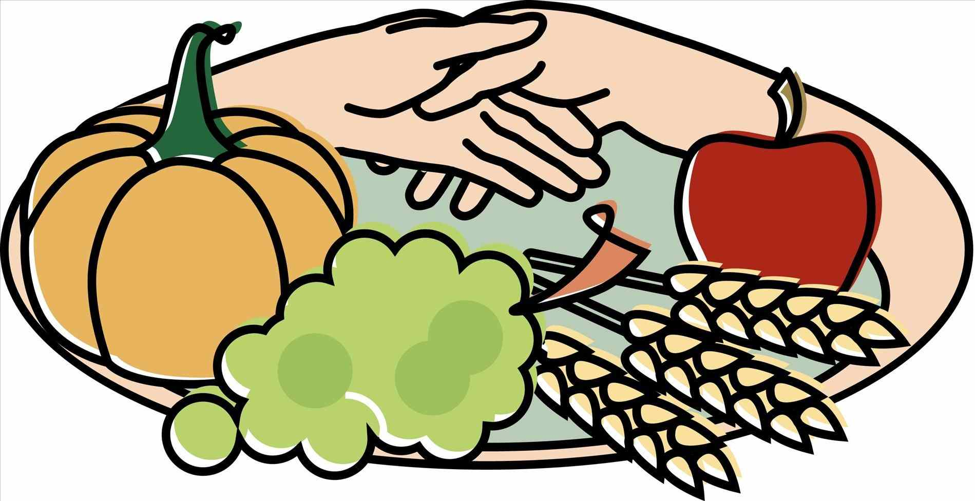 1899x976 Family Turkey Dinner Clipart