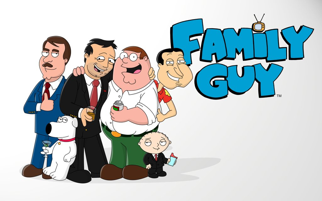 1024x640 Family Guy Seth And The Gang By Vonmatrix5000