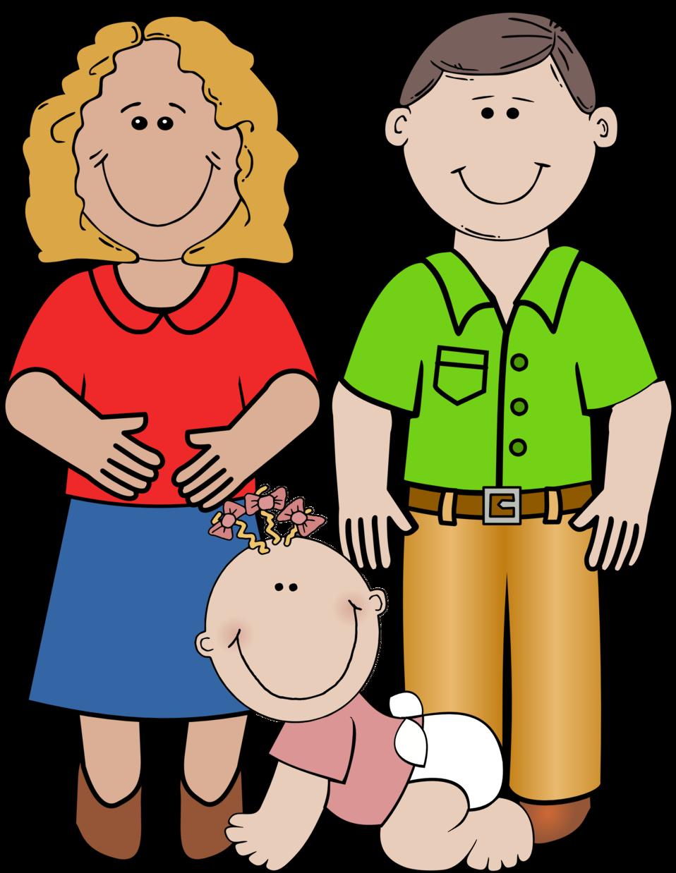 958x1238 Family Clipart