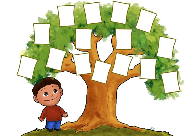 650x460 Family Tree Clip Art Templates Clipart Collection