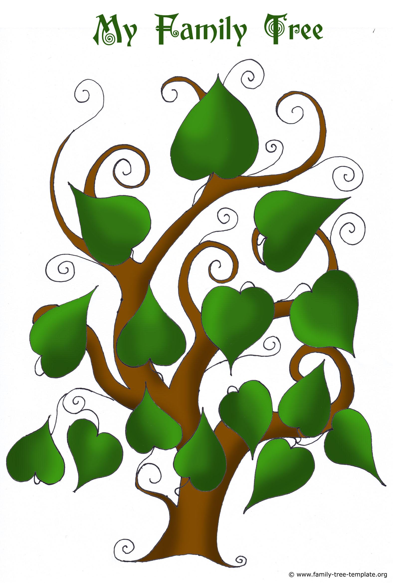 1576x2339 Free Family Tree Templates