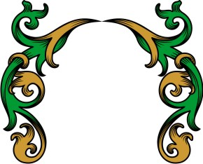 290x234 Mantling Clip Art For Your Custom Family Coat Of Arms