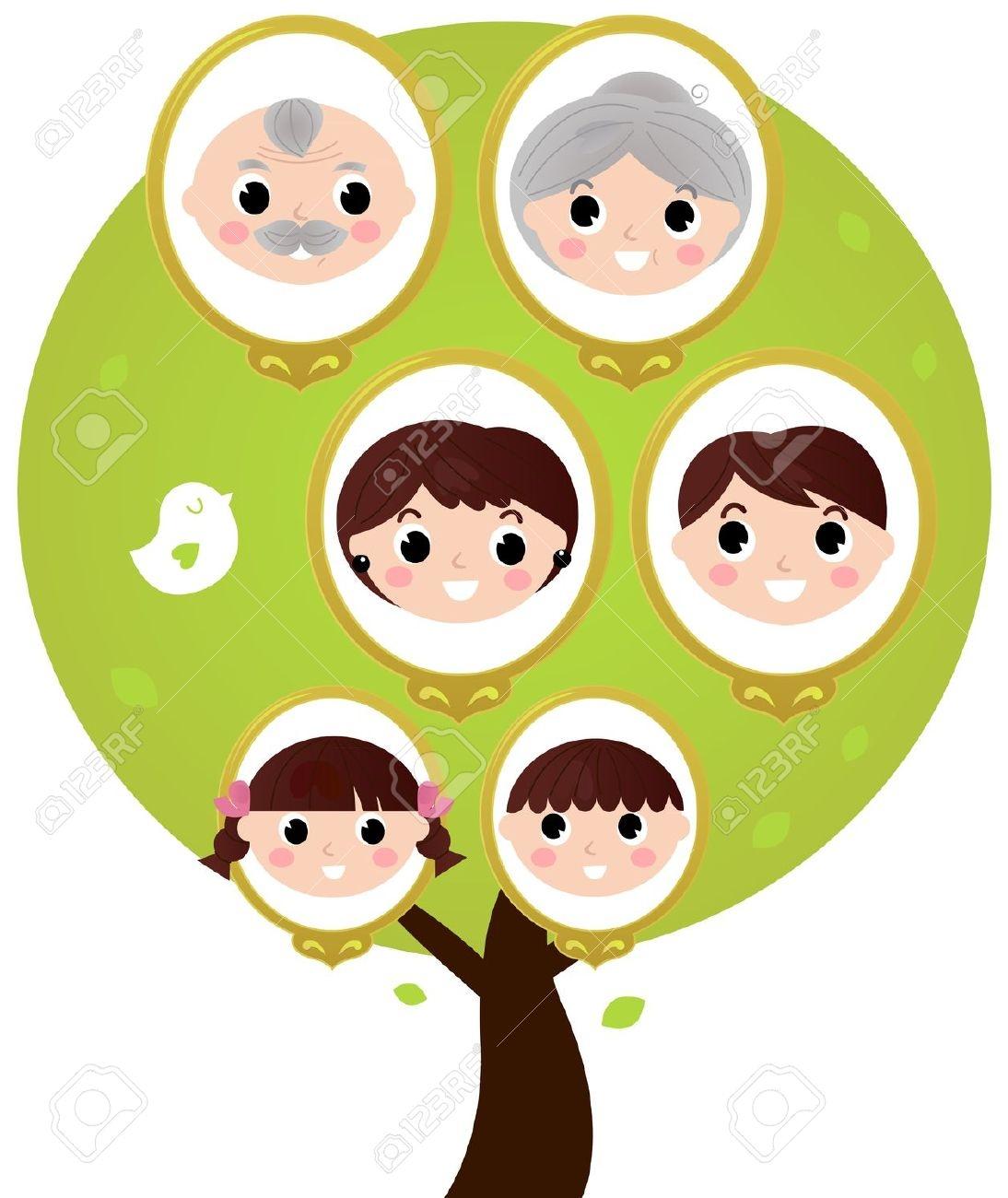 1094x1300 Clip Art Clip Art Of Family Tree