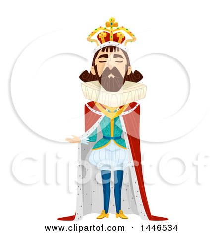 450x470 Clipart Happy Kids Wearing Royal Family Member Costumes