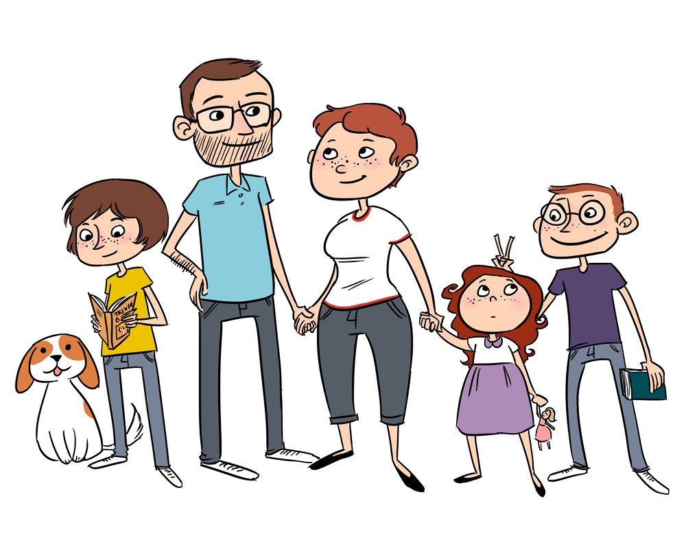 1000x800 Family Members Clipart